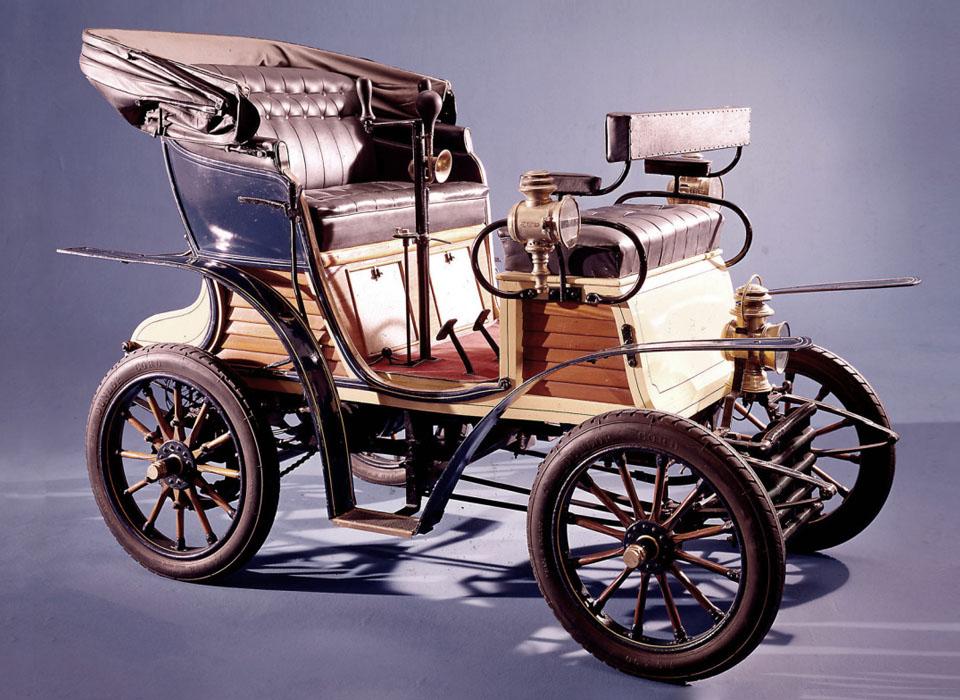 12. FIAT 3,5 h.p. (1899)