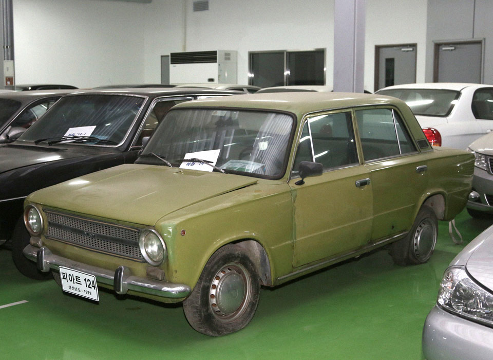 19. Kia FIAT 124 (1970) Наверняка вы спросите: