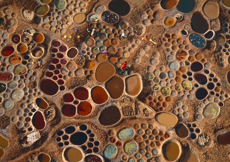 Как добывают соль в Нигере