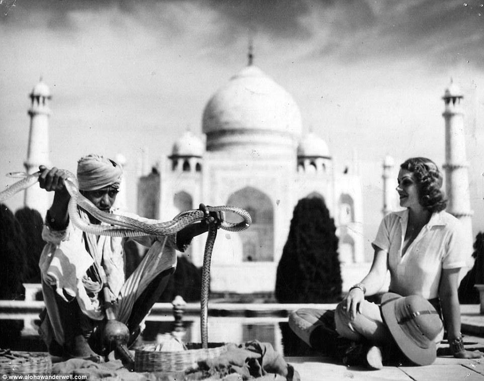 Несколько месяцев экспедиция провела в Индии: они встречались с местными жителями и любовались досто