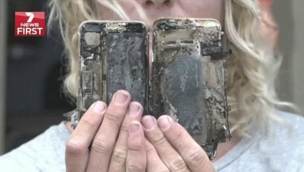 Новый iPhone 7 поджег автомобиль австралийца
