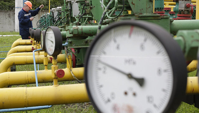 Украина сократила закачку газа вподземные хранилища натреть