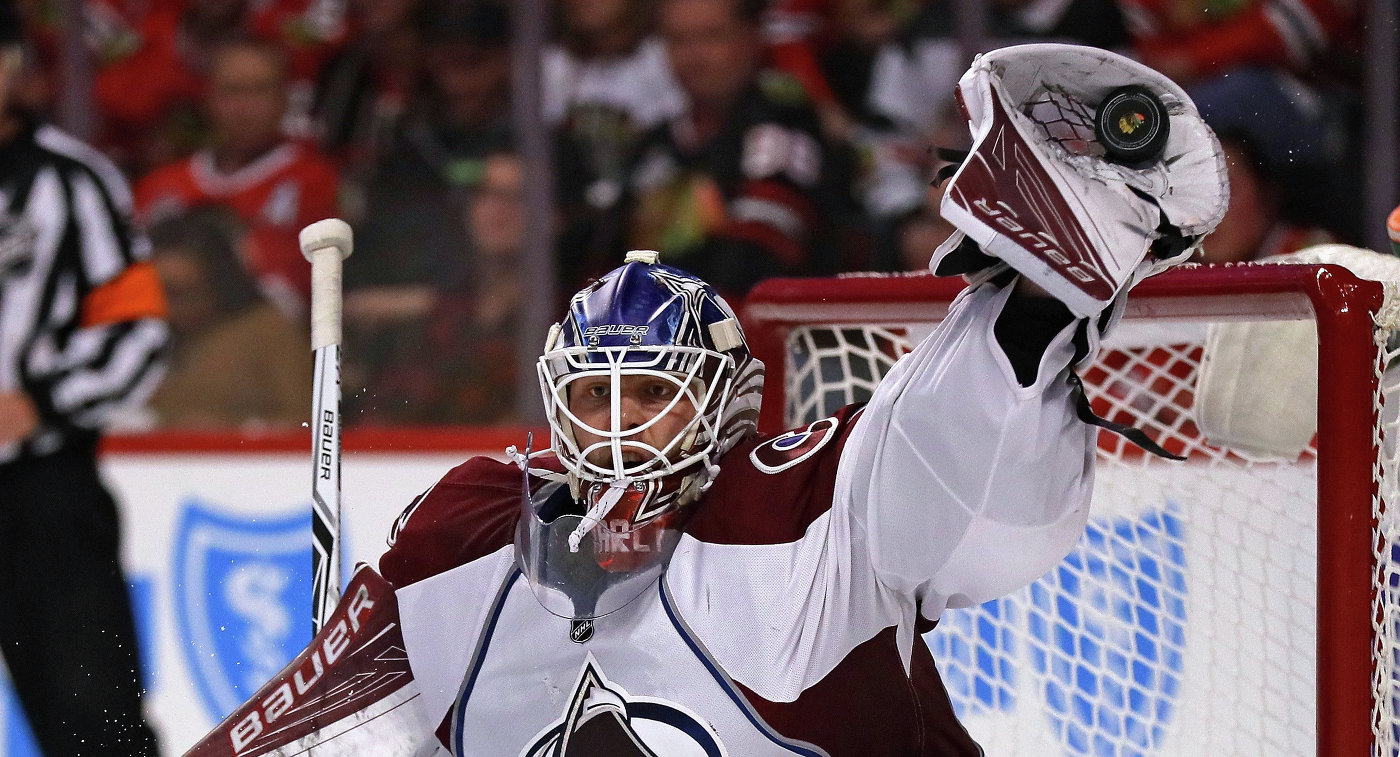 43 сэйва Варламова неспасли «Колорадо» вигре с«Бостоном»