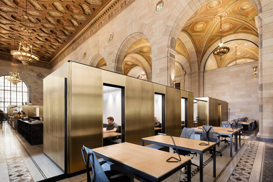 Old Bank turned into Startup Office in Montreal (11 pics)