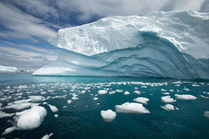 Although the continent is primarily covered by a thick sheet of ice, Antarctica is actually classifi