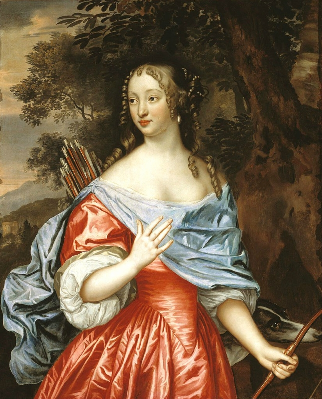 Jan Mytens (Dutch artist, 1614-1670) Lady as Diana.jpg