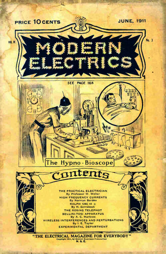 Modern Electrics: June 1911 - - Book Cover