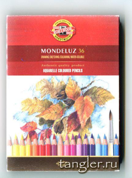 Коробка моих любимых карандашей Koh-I-Noor Mondeluz