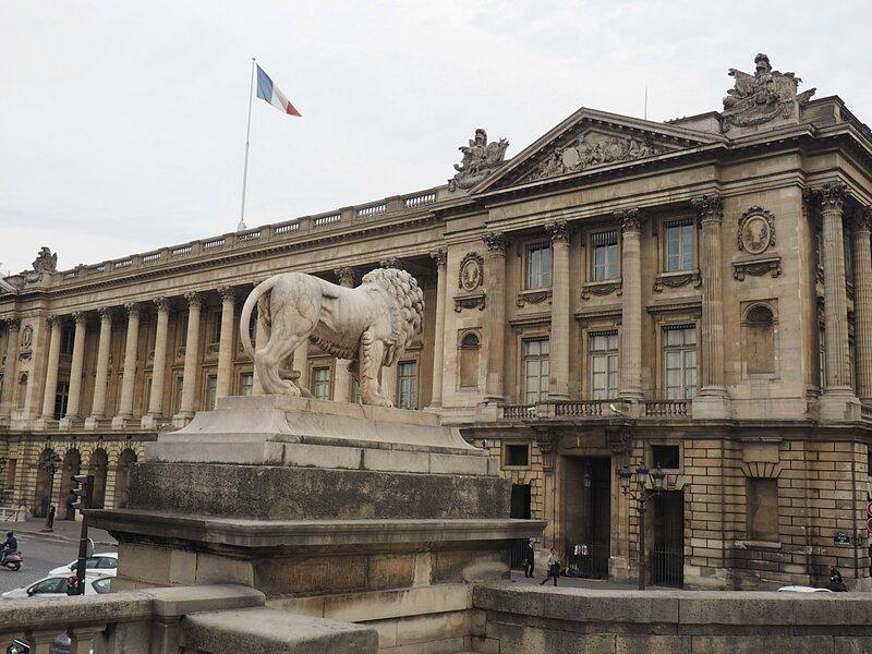 Париж, площадь Согласия (Paris, Place de la Concorde)