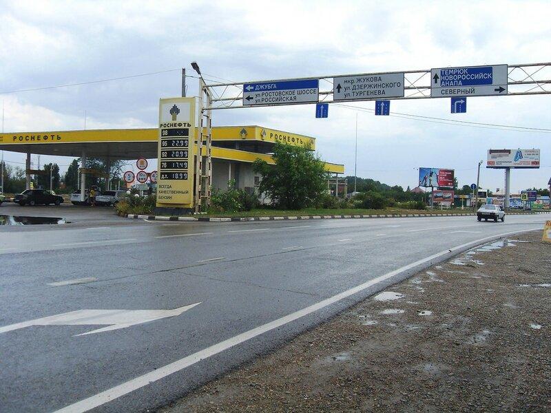 На дороге в центр Краснодара, июль, дождливая погода ...SDC13082.JPG