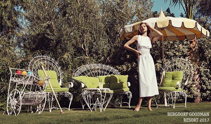 Линдси Виксон / Lindsey Wixson by Sofia Sanchez & Mauro Mongiello - Bergdorf Goodman Magazine Resort 2017