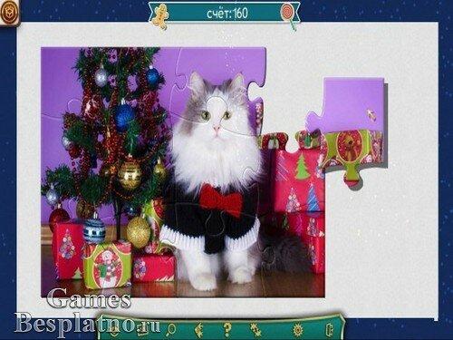 Праздничный пазл. Рождество 3