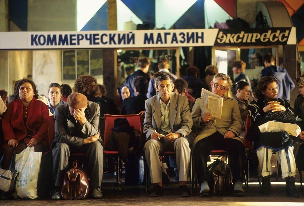 505394 Зал ожидания на Белорусском вокзале Jean-Paul Guilloteau.jpg
