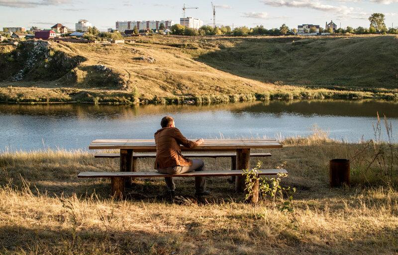 вечер на реке исеть