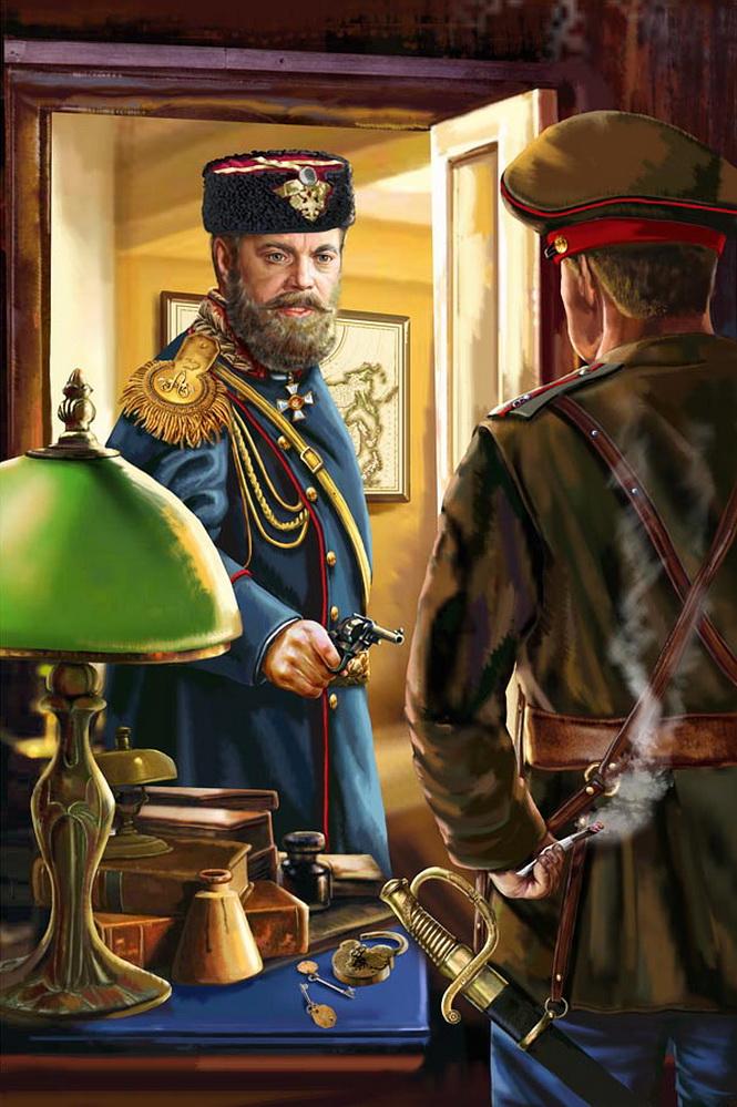 Александр III со страха застрелил офицера стражи, барона Рейтерна..jpg