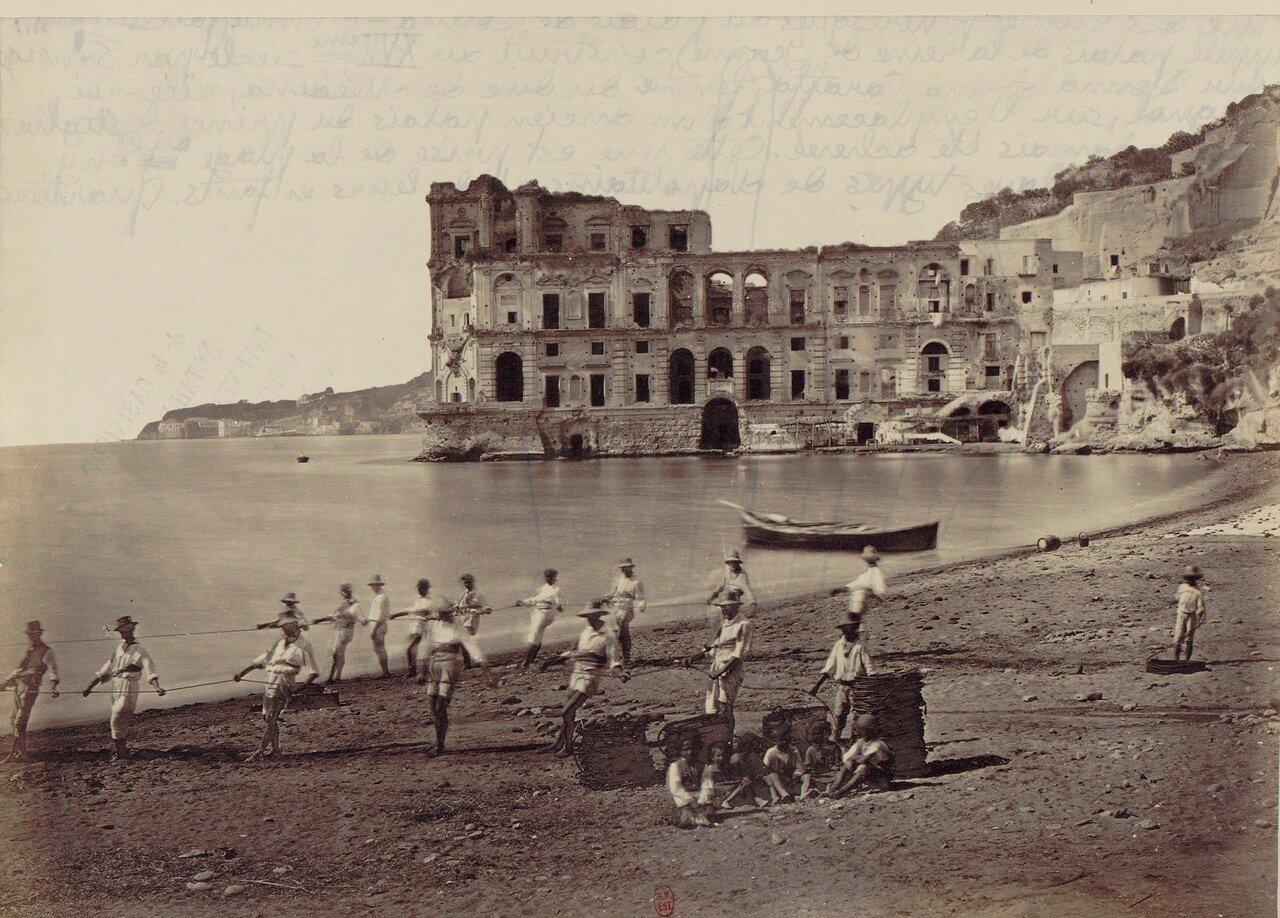 72. Дворец Донны Анны, построенный в семнадцатом веке и не завершеный