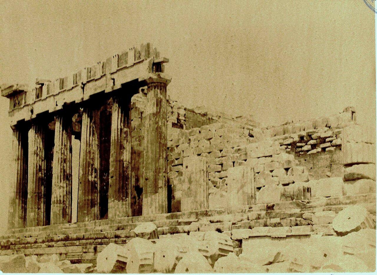 26. Афины. Внутренний вид Пропилей