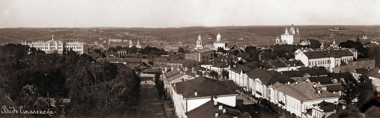 Панорама города (север). 1908