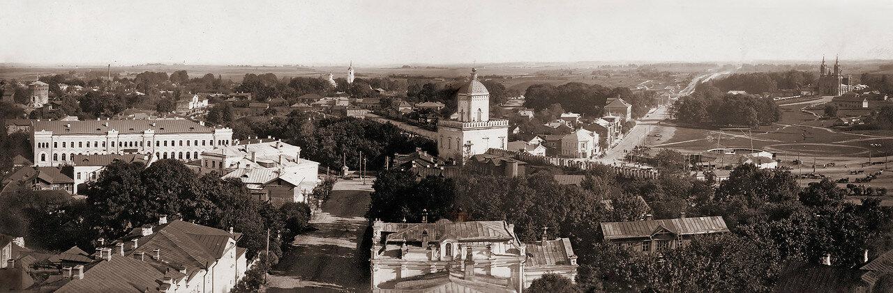 Панорама города (юг). 1908