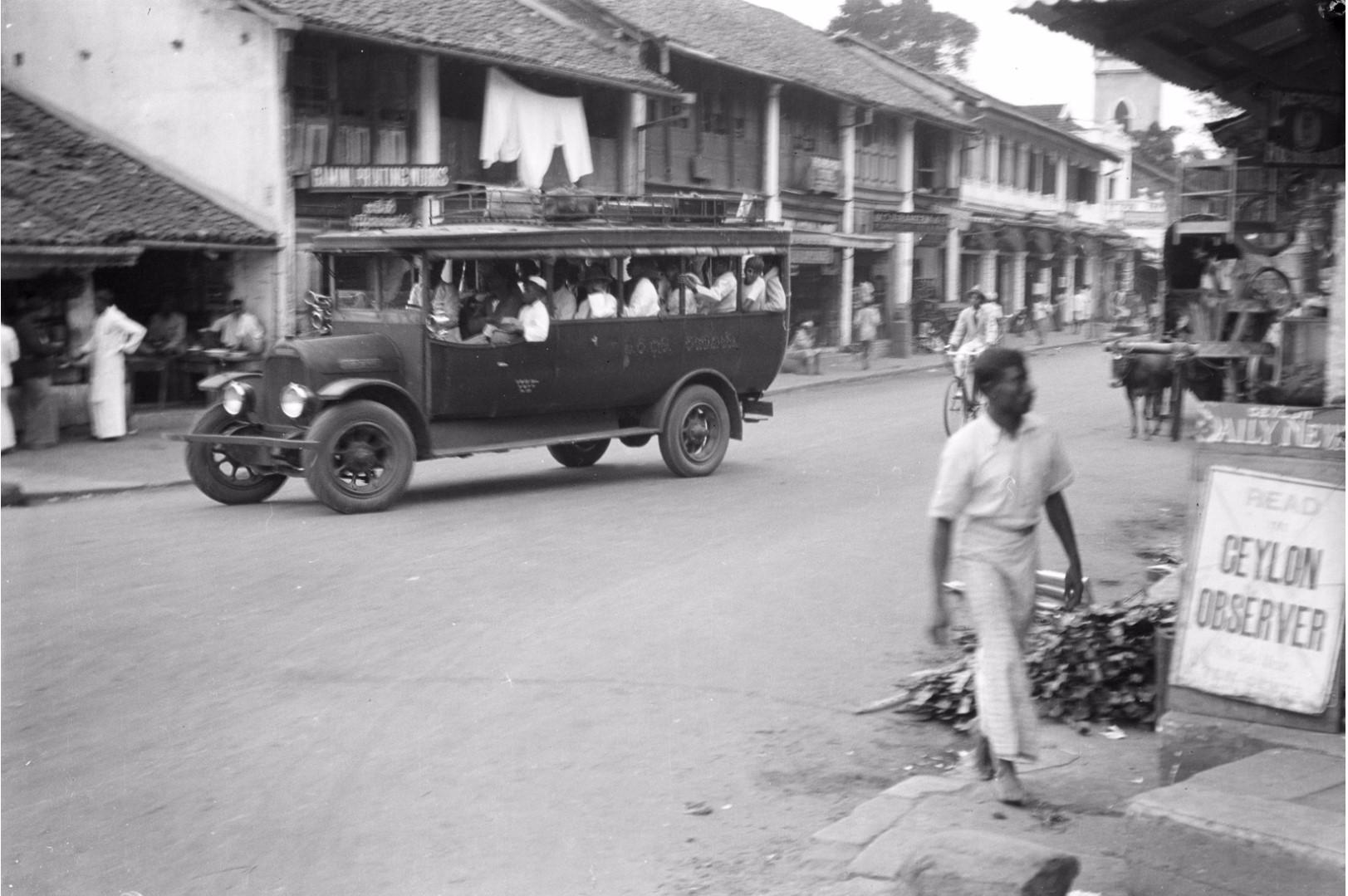 223. Уличная сцена в Канди