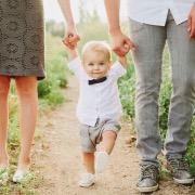 малыш и родители