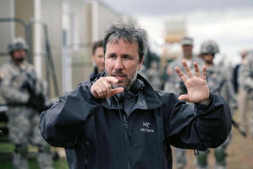 """Story of Your Life"" Day 46Photo: Jan Thijs 2015 Director Denis Villeneuve in ARRIVAL by Paramount Pictures"