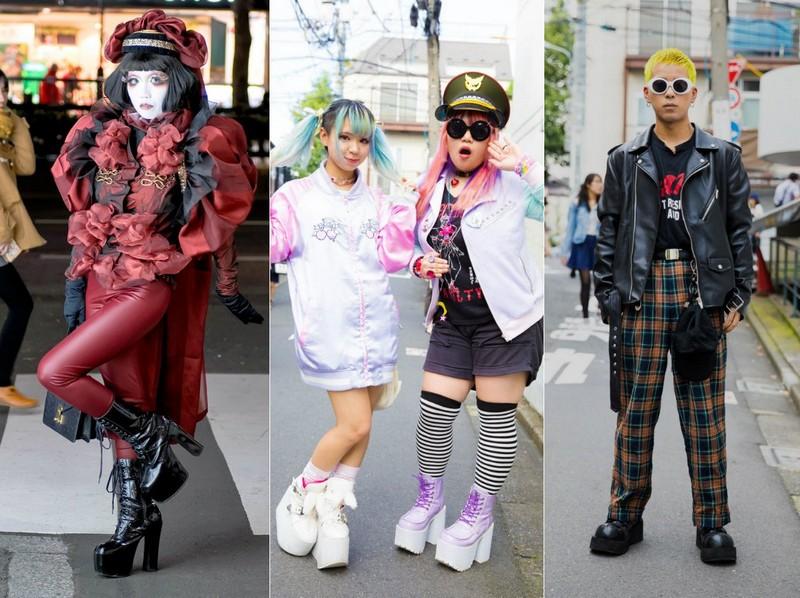 Модные персонажи на улицах Токио (22.11.16)