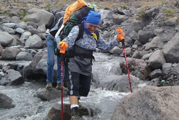 77-летняя Анастасия Дойникова с Полтавщины готовится покорить Эверест (видео)