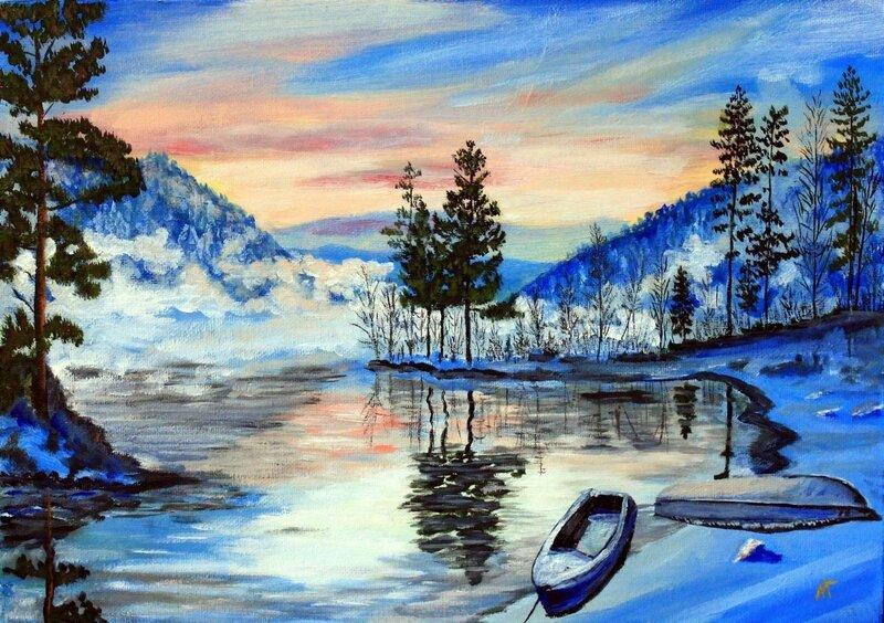 Зимнее утро в Изербели