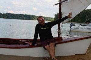 GoodBoat - деревянная парусная лодка
