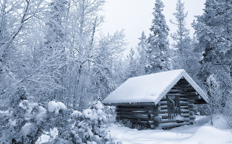 Зима рабочий стол