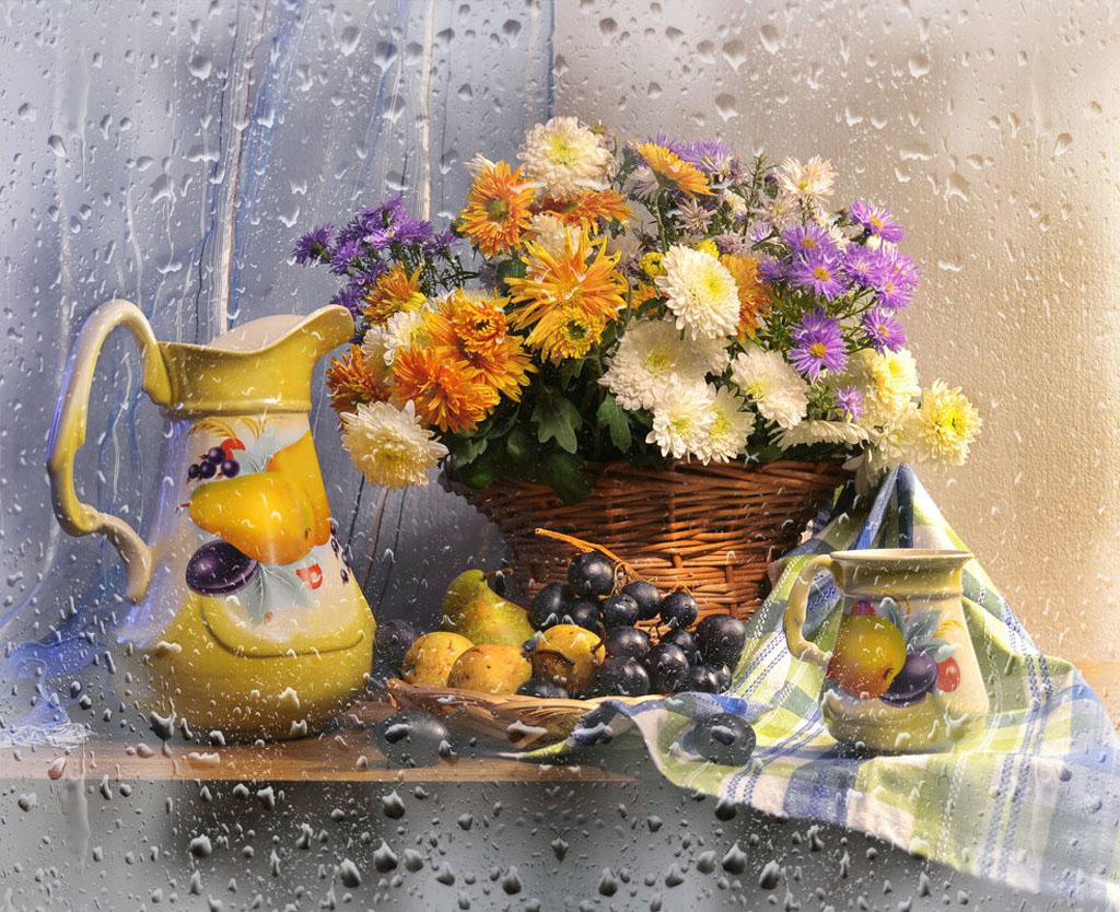 Прекрасные осенние фотонатюрморты от Валентины Коловой