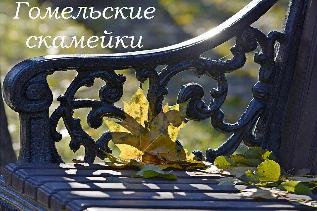 Гомельские скамейки