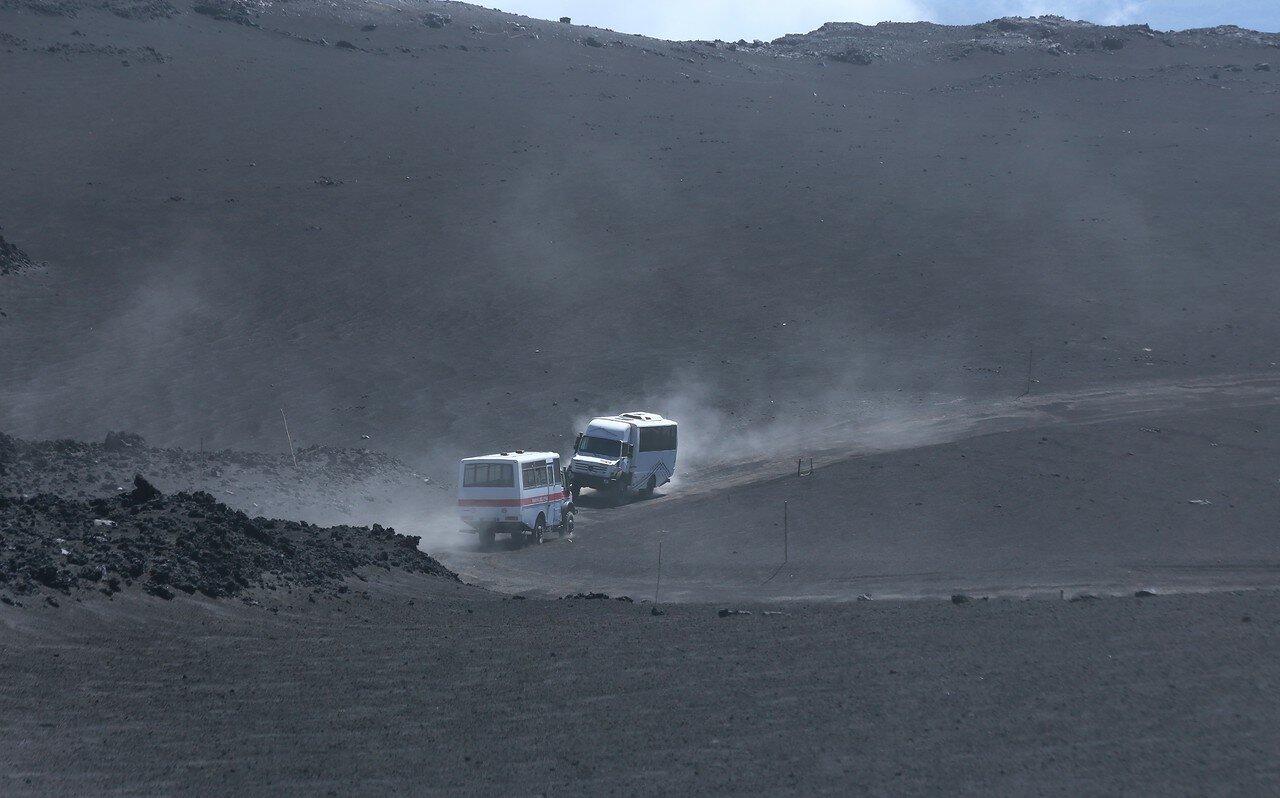 Этна. Дорога к вершине