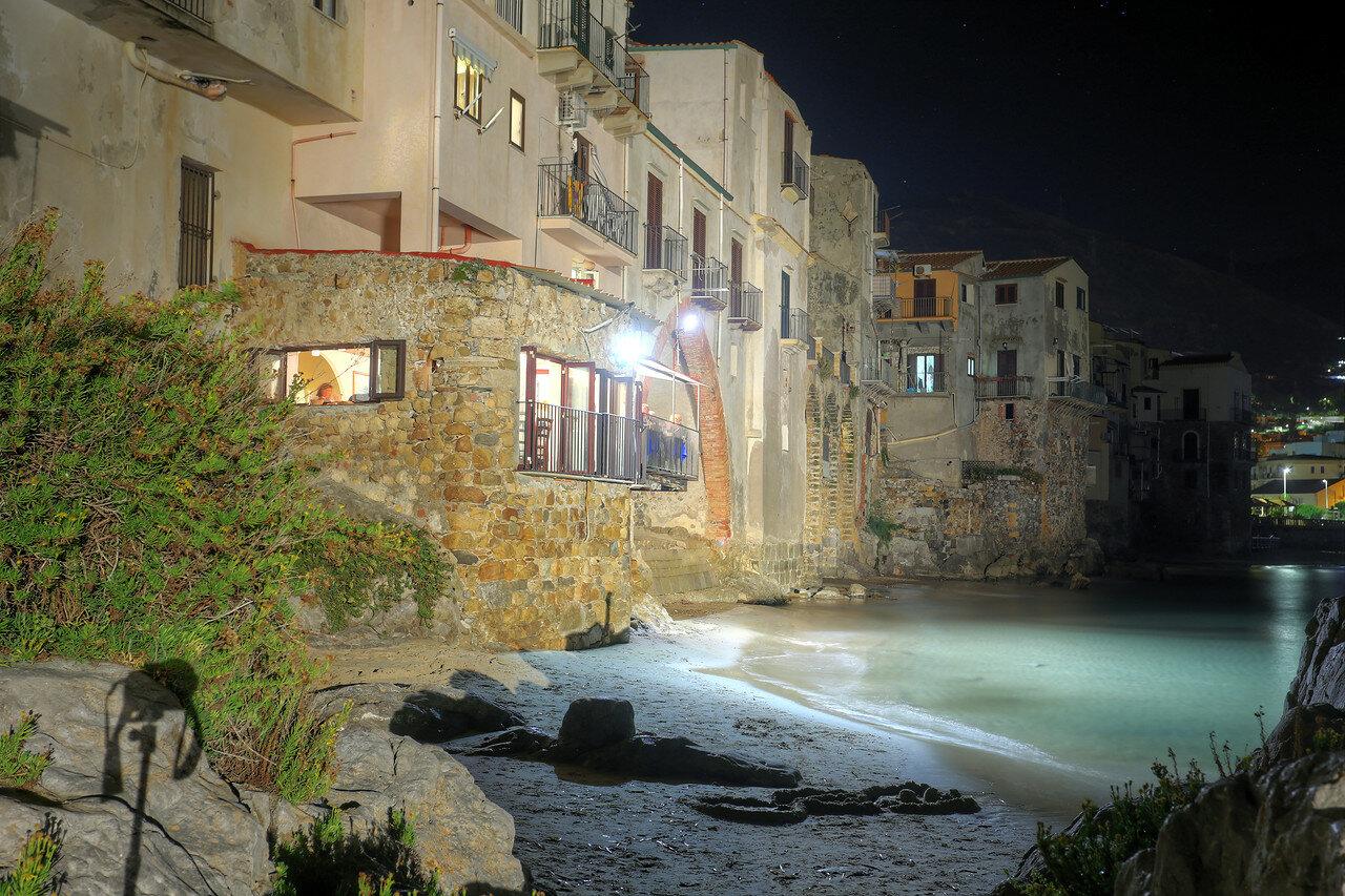 Night Cefalù. HDR photo