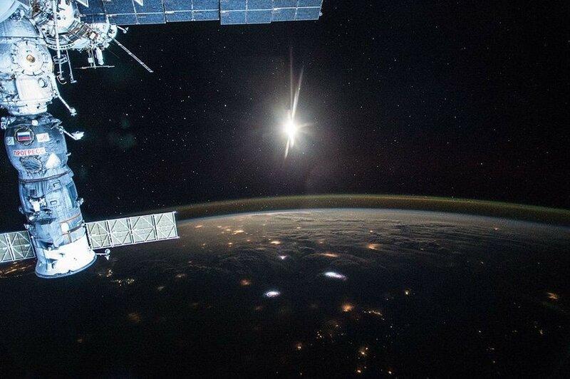 Фантастические фотографии космоса Скотта Келли