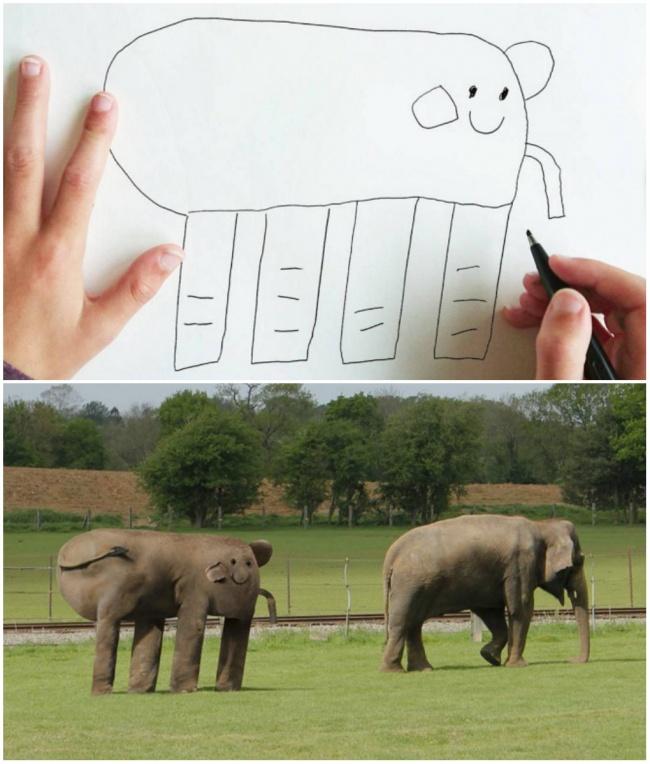 Вот что случится, если детские рисунки станут реальностью
