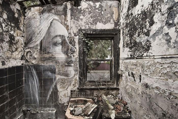 Портреты заброшенных зданий