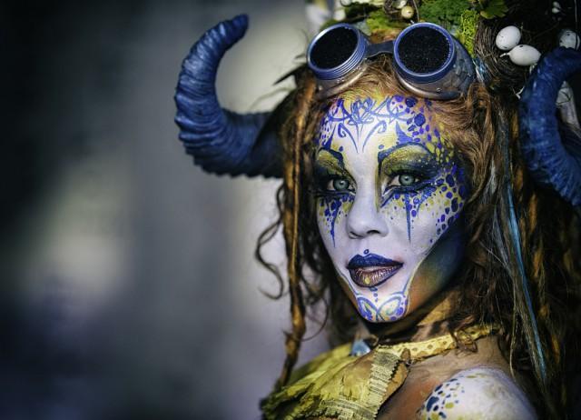 Фестиваль безумного боди-арта
