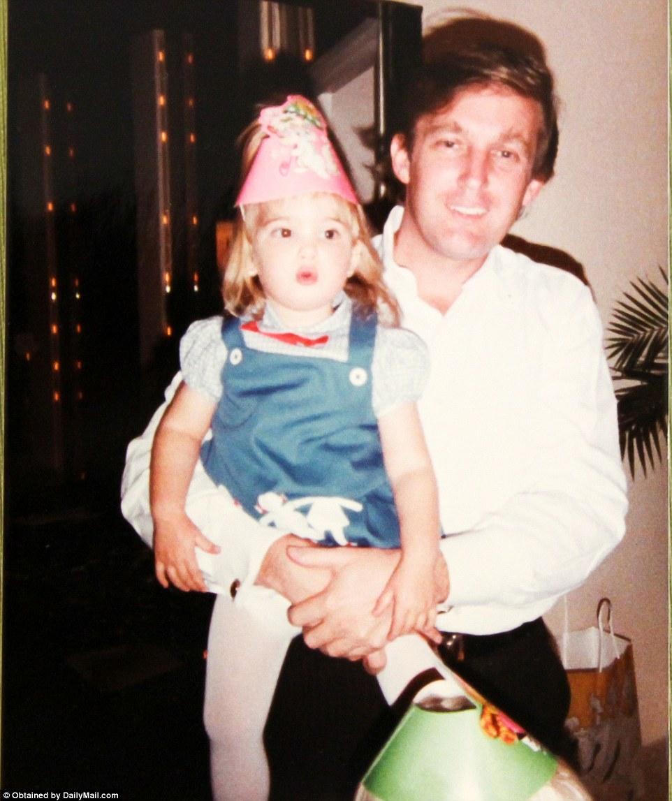 Дональд Трамп и любимая дочка Иванка.