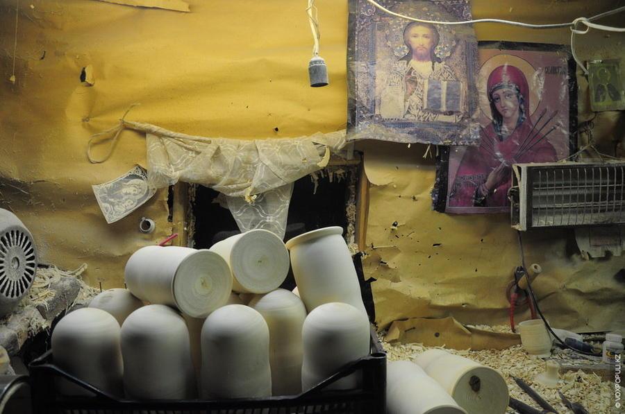 1. Крестьяне села переняли токарный промысел от монахов Саровского монастыря. В начале XX века дерев