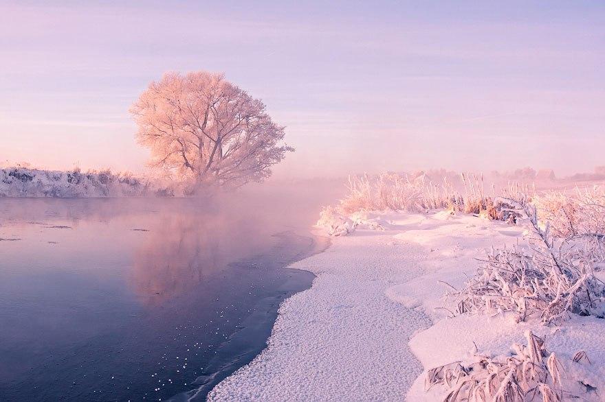 Белорусский фотограф Алексей Угальников – мастер предрассветного пейзажа