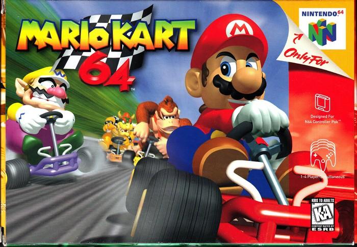 2. Mario Kart 64 Если в вашем чулане завалялась эта видеоигра, то вы можете получить за нее на e-Bay