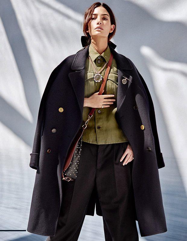 Лили Олдридж в Harper's Bazaar Singapore