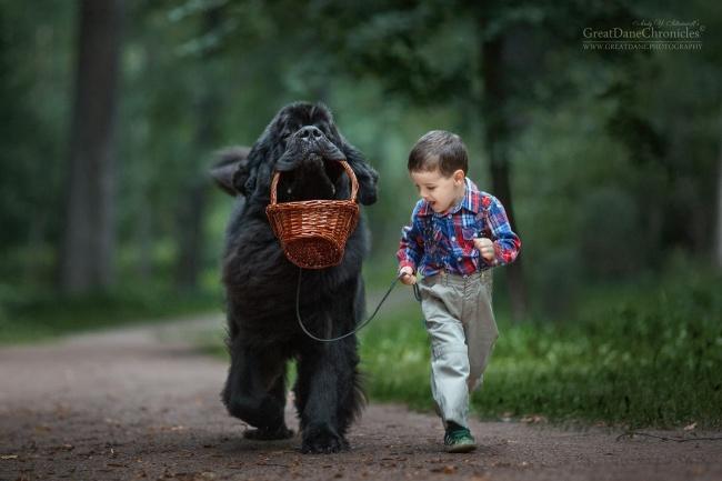 15фотографий, которые доказывают, что каждому малышу нужен большой друг