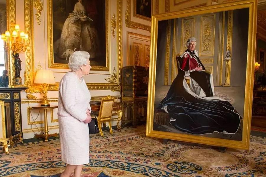 Это действительно королева?