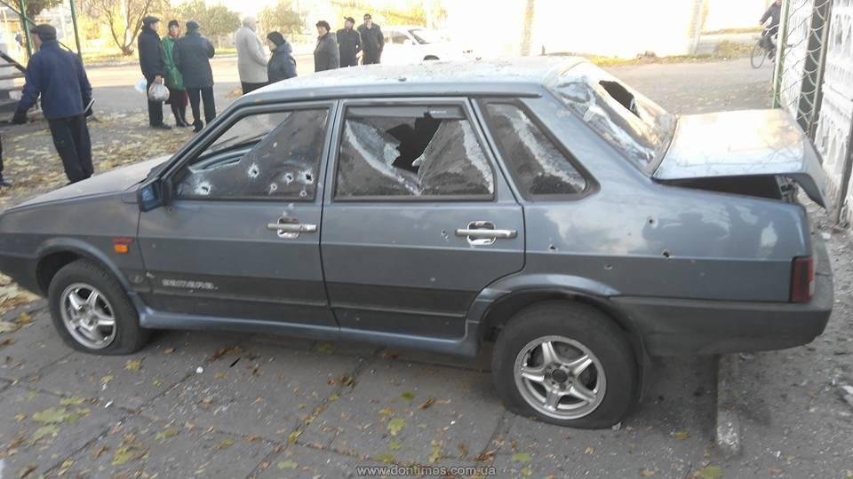 Боевики прицельно обстреляли жилой массив Попасной