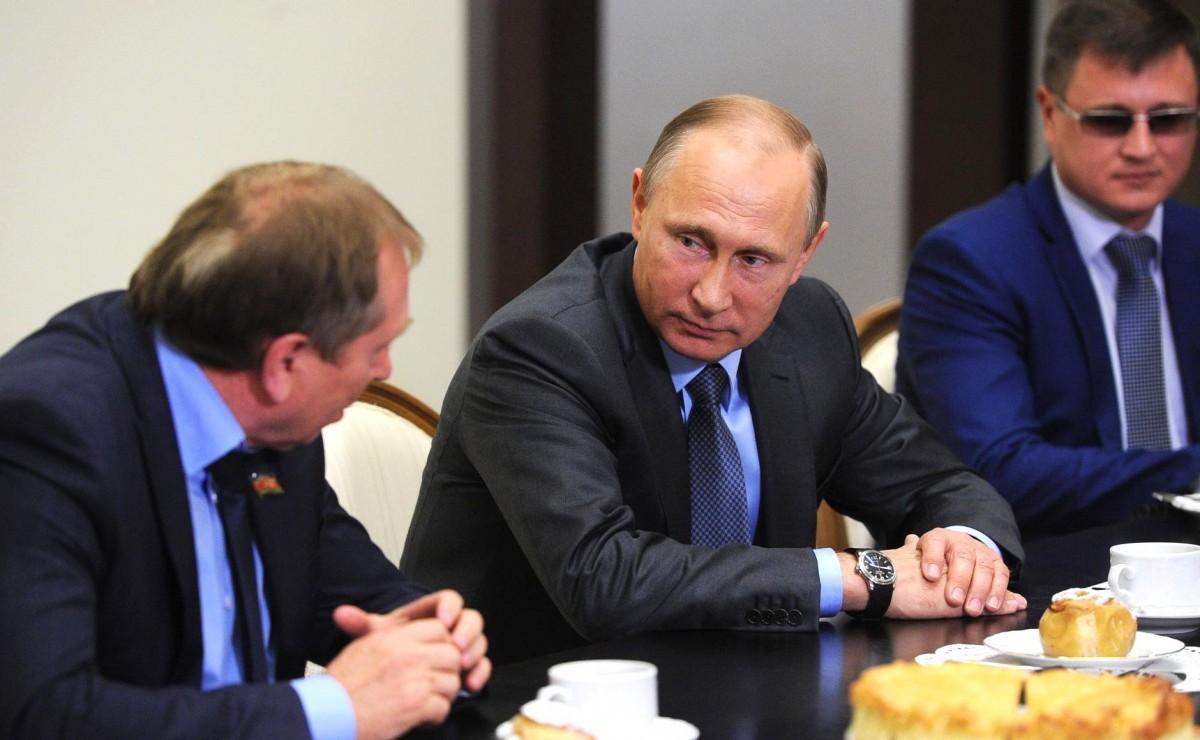 Путин поддержал закон орусской нации