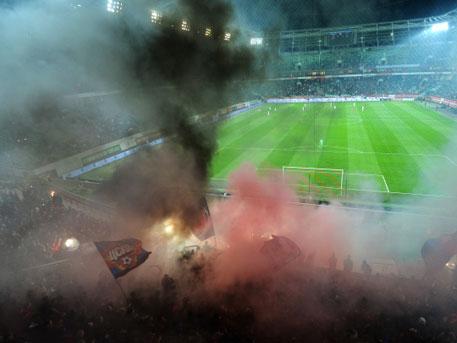 Милиция задержала фанатов вметро перед матчем между «Спартаком» иЦСКА