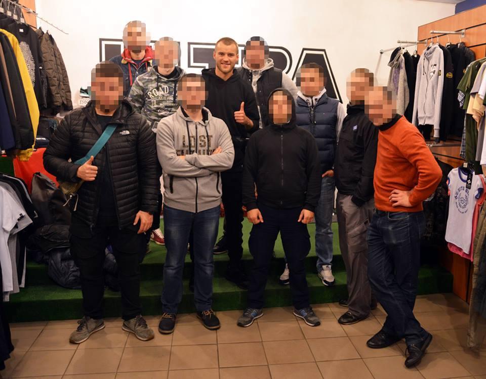 Ярмоленко наматче «Динамо»— «Карпаты» был замечен нафан-секторе киевлян